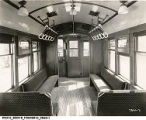 Chicago Rapid Transit Car 4422 Interior