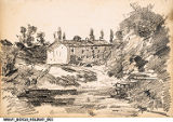 William Forsyth Sketch of Country Scene
